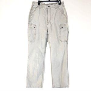 Carhartt khaki cargo pants/ 36x36